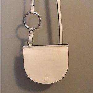 Zara Smooth Leather Crossbody Bag